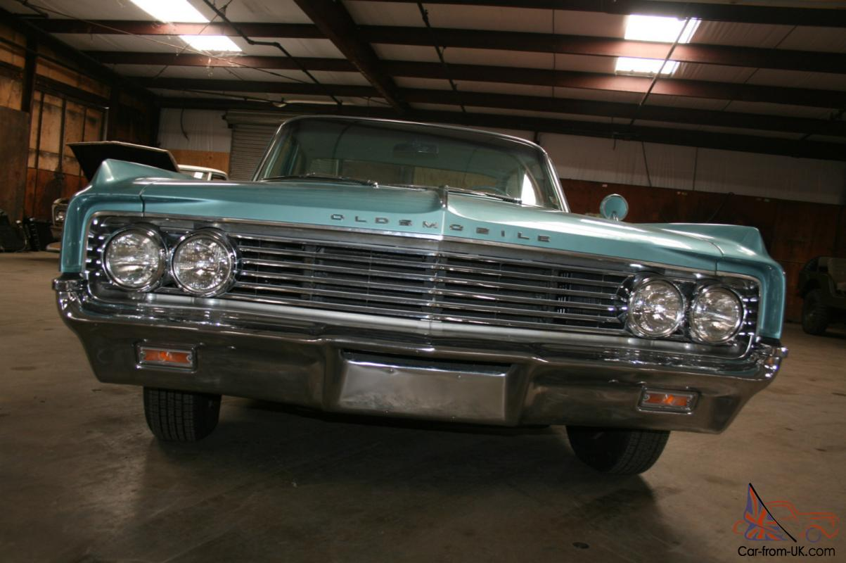 Mint cond 1963 olds low mileage sedan dynamic 88 with for Does ebay motors ship cars