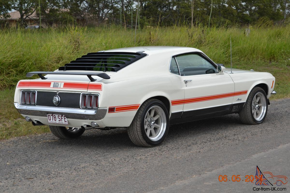 Ford mustang mach 1 428 cobra jet 1969 in wide bay burnett qld