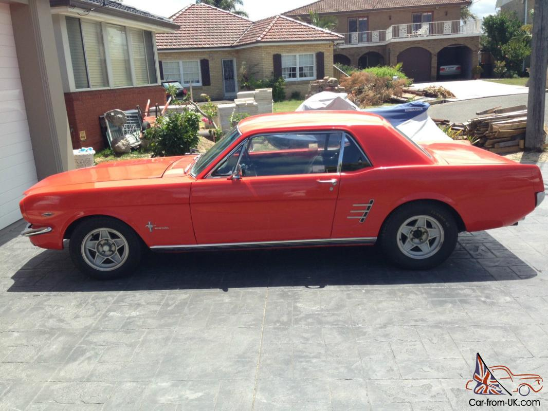 Ford Mustang 1965 Coupe RHD Right Hand Drive Priced TO Sell Offers In Sydney NSW