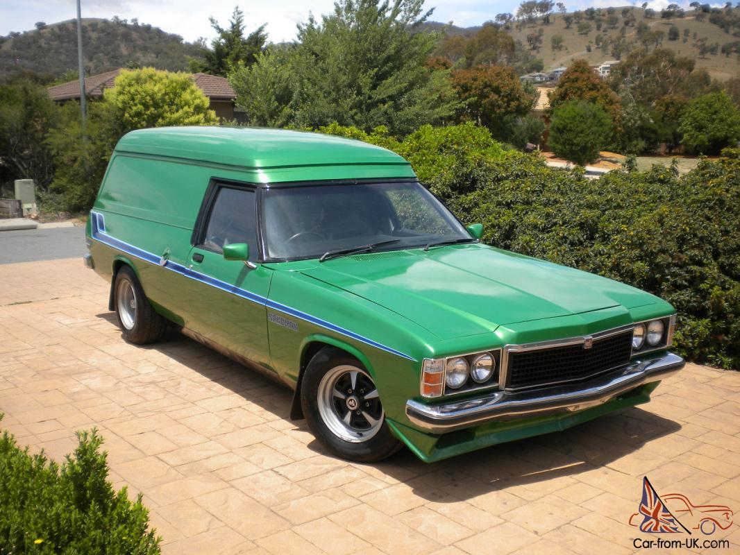 1978 Holden Hz Sandman Panelvan In South Eastern Act