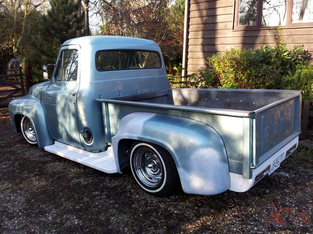Hotrod Custom 1954 Ford F100 Stepside Pick Up Truck Gas Tank
