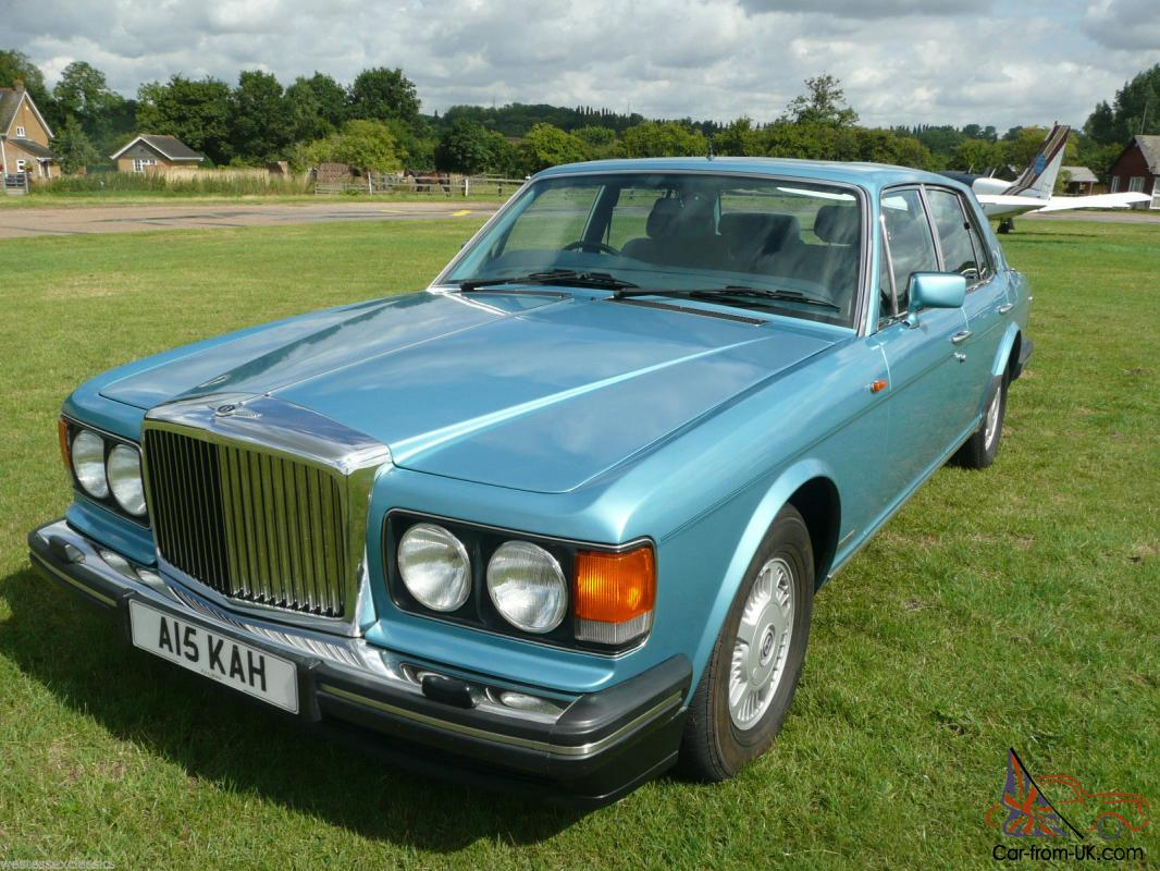 1991 bentley mulsanne