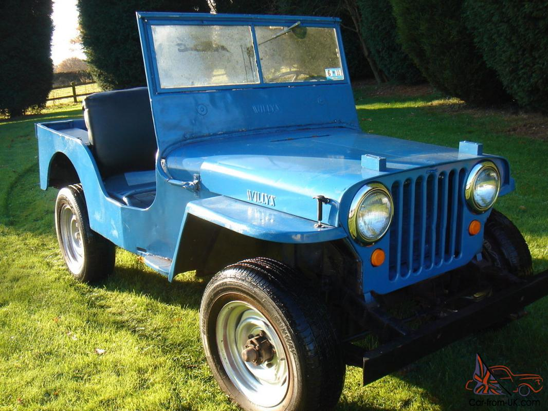 Willys Jeep Cj2a Classic Car Military Vehicle M105 Trailer Wiring Diagram