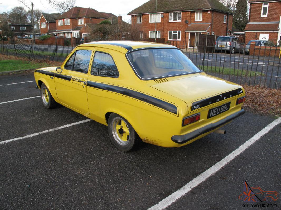 1973 ford escort mk1 mexico mot genuine type 49 avo shell all correct 2 0. Black Bedroom Furniture Sets. Home Design Ideas