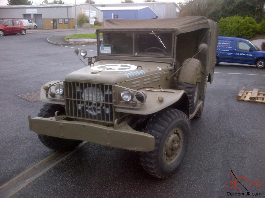 Car Carrier For Sale >> 1944 dodge wc51 weapons carrier