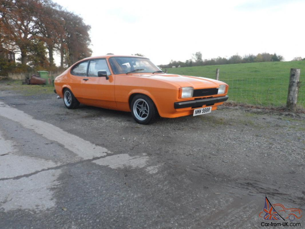 ford capri mk2 3 0s 1977 r reg taxed and tested signal orange excellent example. Black Bedroom Furniture Sets. Home Design Ideas