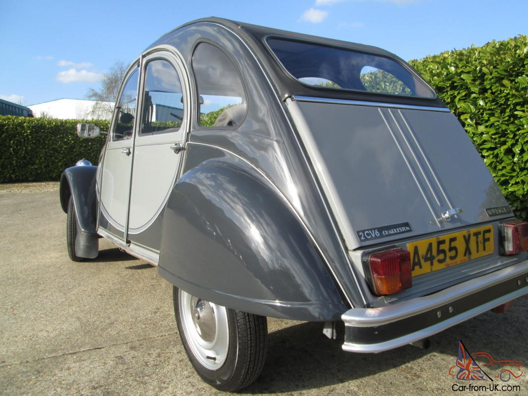 citroen 2cv charleston a very nice example of a top of. Black Bedroom Furniture Sets. Home Design Ideas