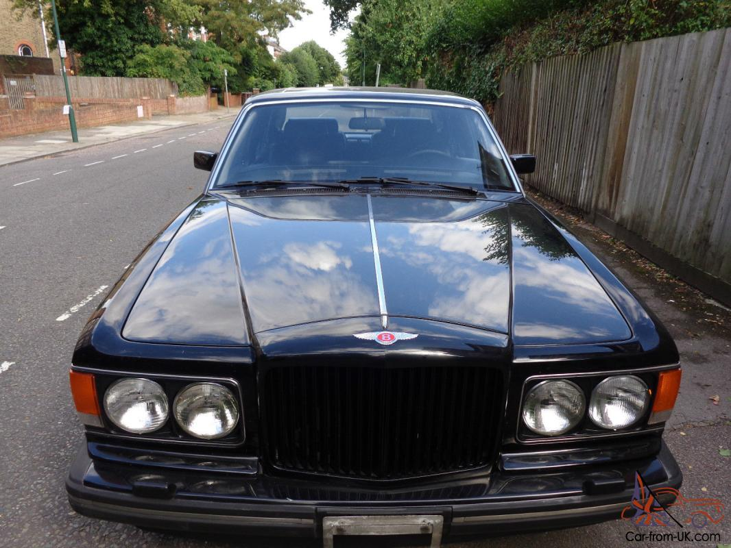 Bentley eight lhd 1990 black with black leather interior 35000 miles