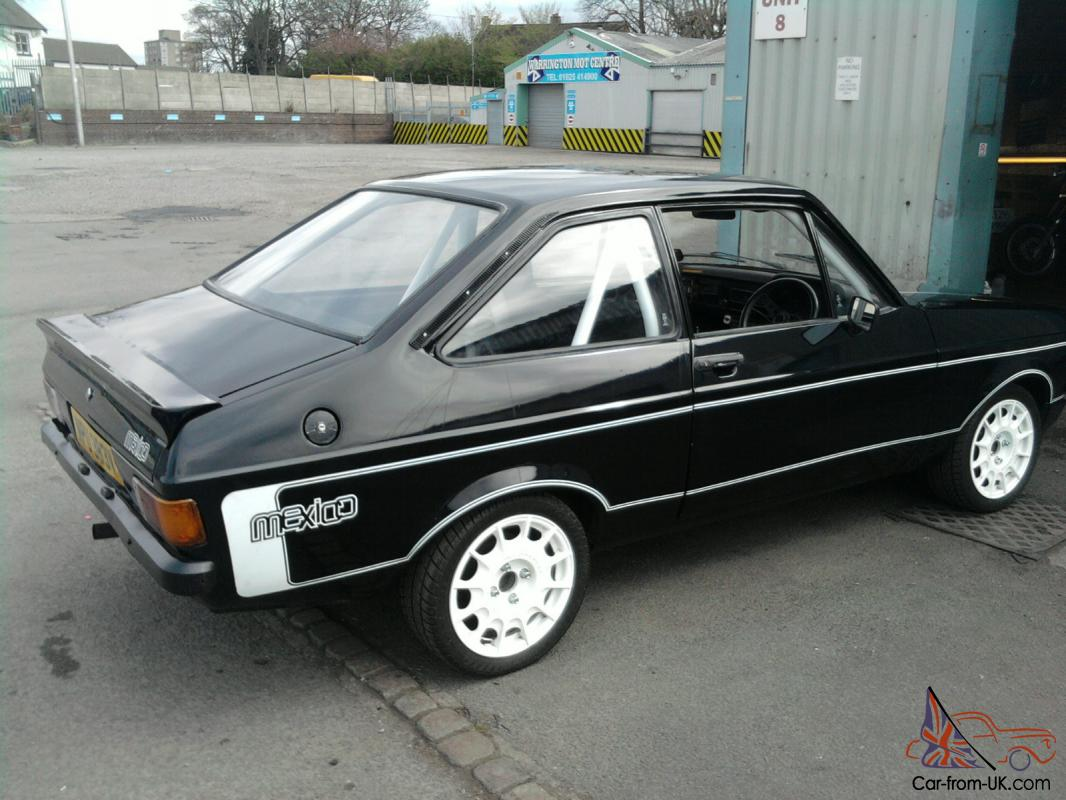 FORD ESCORT MK2, 2 DOOR, MEXICO DECALS, FULL CAGE, CORBEAU SEATS