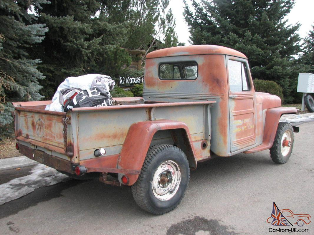 Pickup For Sale: Willys Overland Pickup For Sale