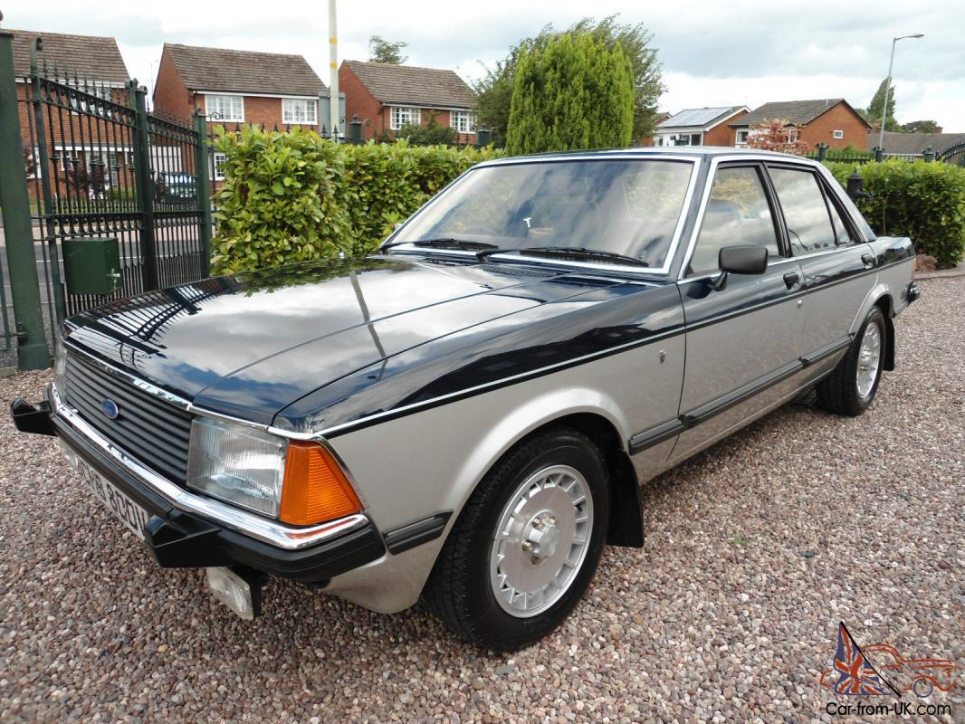 1979 ford granada sapphire 2 8 ghia 1 owner from new. Black Bedroom Furniture Sets. Home Design Ideas
