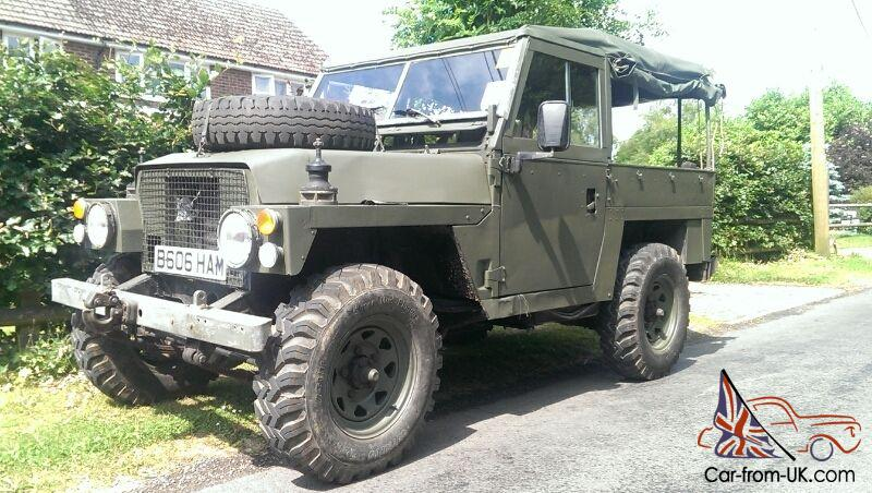 Ex Military Swb Series 3 Lightweight Landrover
