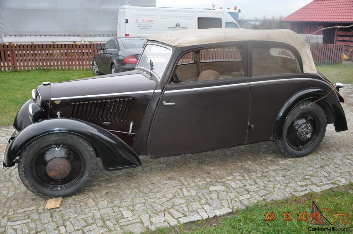audi dkw f5 meisterklasse convertible 1936. Black Bedroom Furniture Sets. Home Design Ideas