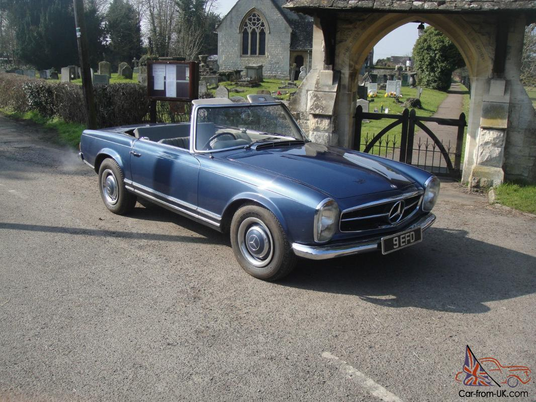1967 mercedes benz 250 sl california coupe for Mercedes benz fixed price servicing costs