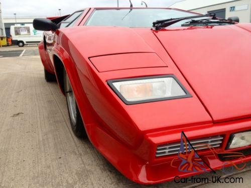 lamborghini countach prova sport kit car replica correctly registered. Black Bedroom Furniture Sets. Home Design Ideas