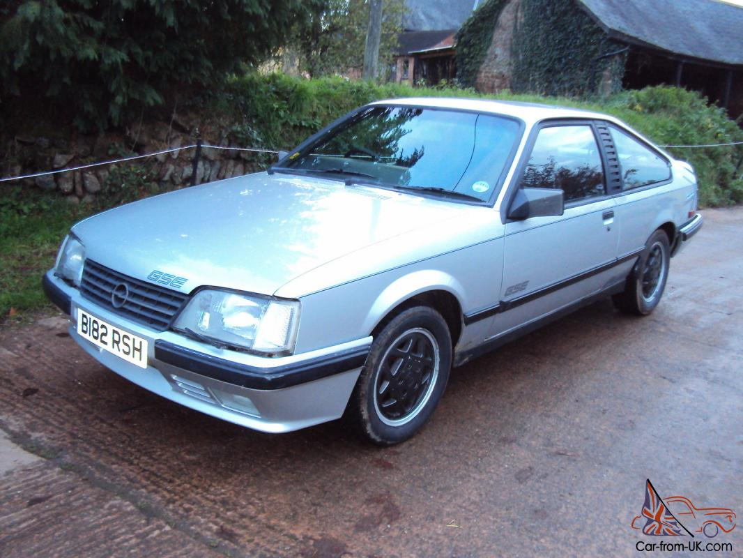 1985 b opel monza gse 3 0e coupe auto new mot straight car last owner 23 years. Black Bedroom Furniture Sets. Home Design Ideas