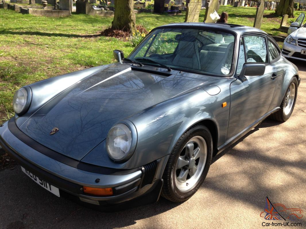 Porsche 911sc Coupe 1983 Model Rare Slate Grey Metallic