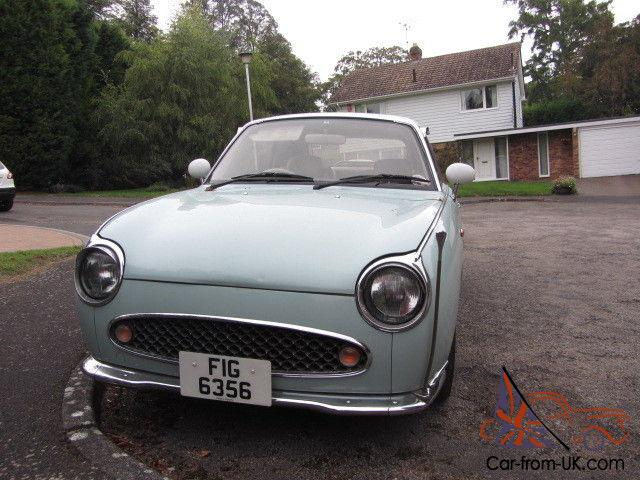 1991 NISSAN FIGARO Duck Egg BLUE Retro Fun loving Car