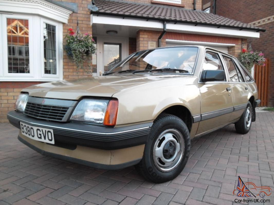 What To Do With Expired Car Seats >> 1984 VAUXHALL Cavalier MK2 GL Hatch Back Antique GOLD ...