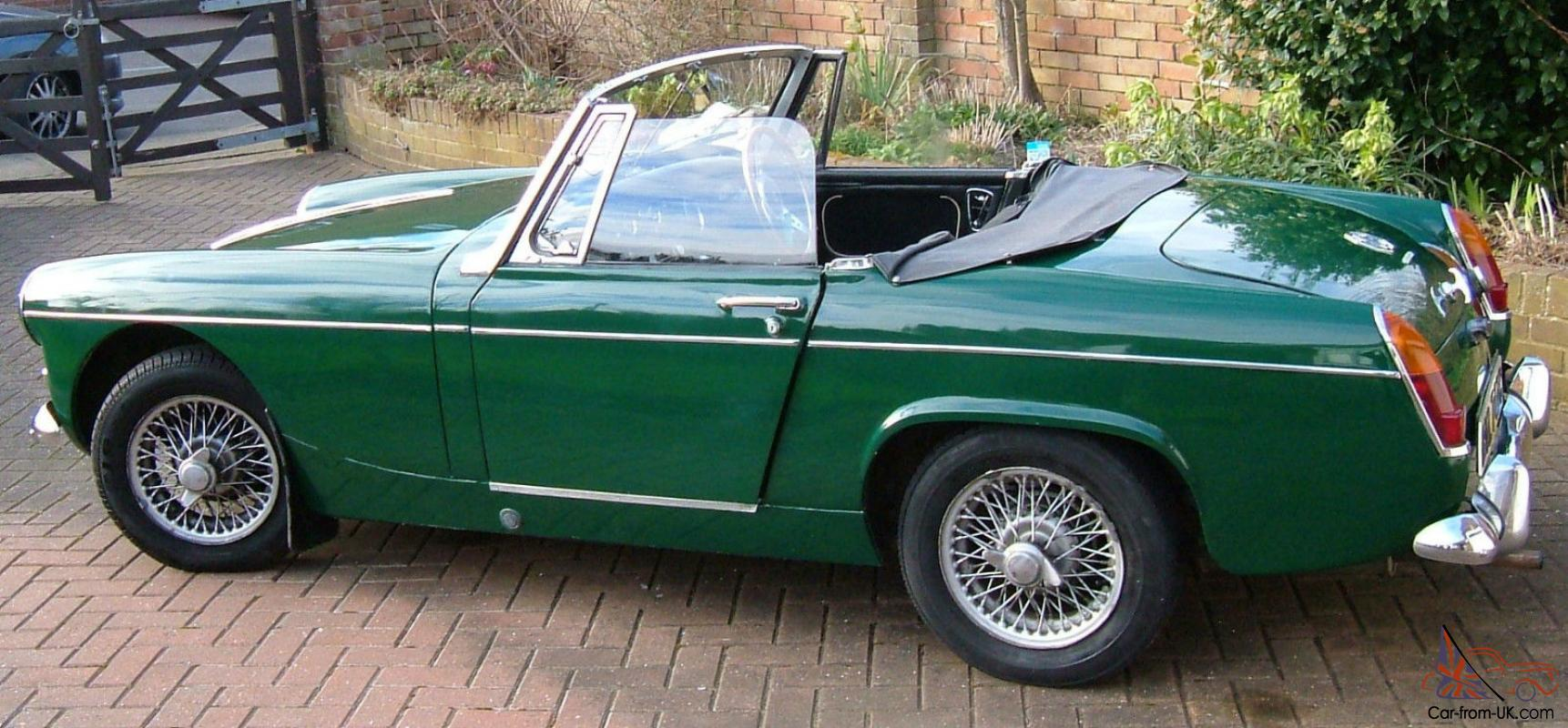 Mg Midget 1965 Mk11 1098cc British Racing Green