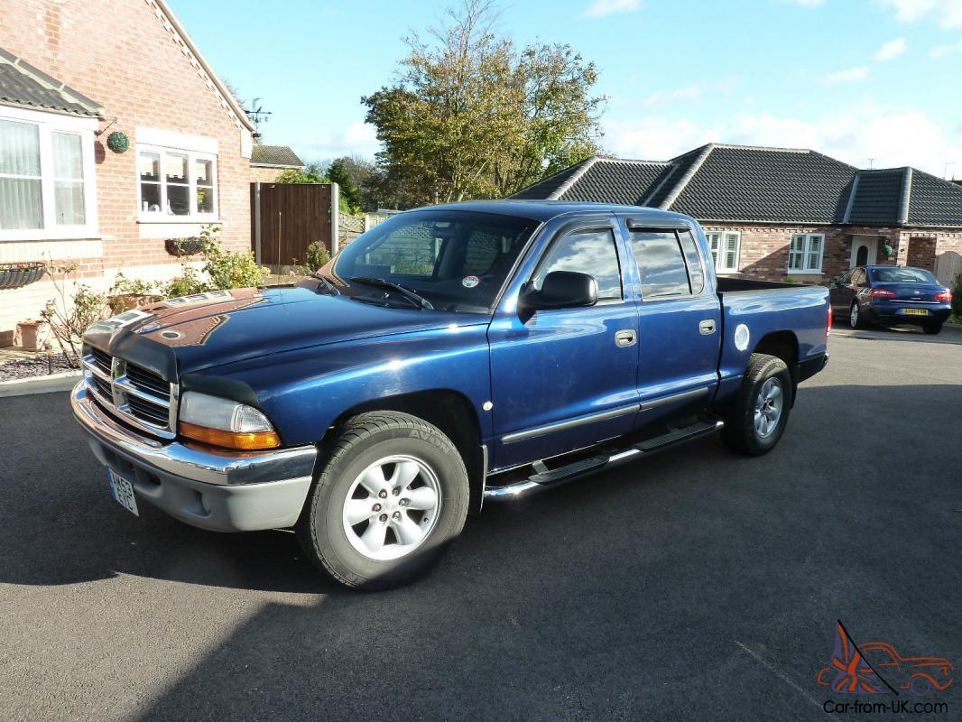 dodge dakota slt 2004 4 7 magnum v8 four door cab lhd not ram. Black Bedroom Furniture Sets. Home Design Ideas
