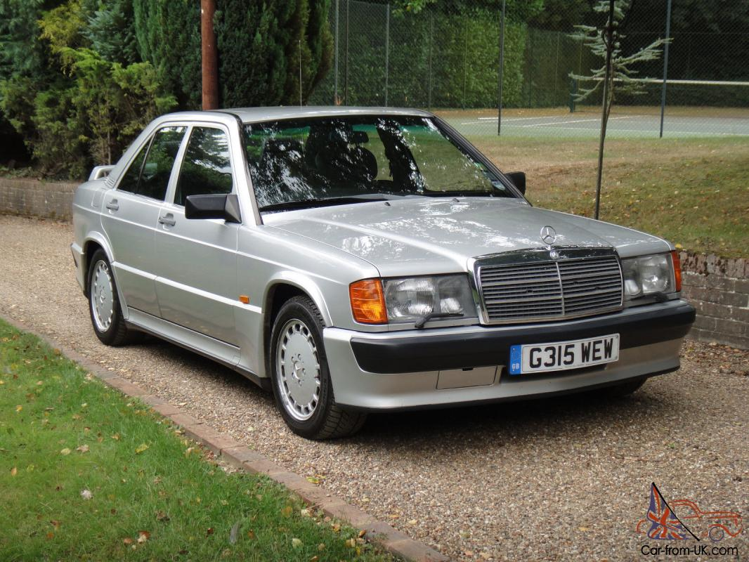 1989 mercedes benz 190e 2 5 16 cosworth dogleg manual for Mercedes benz 190e for sale