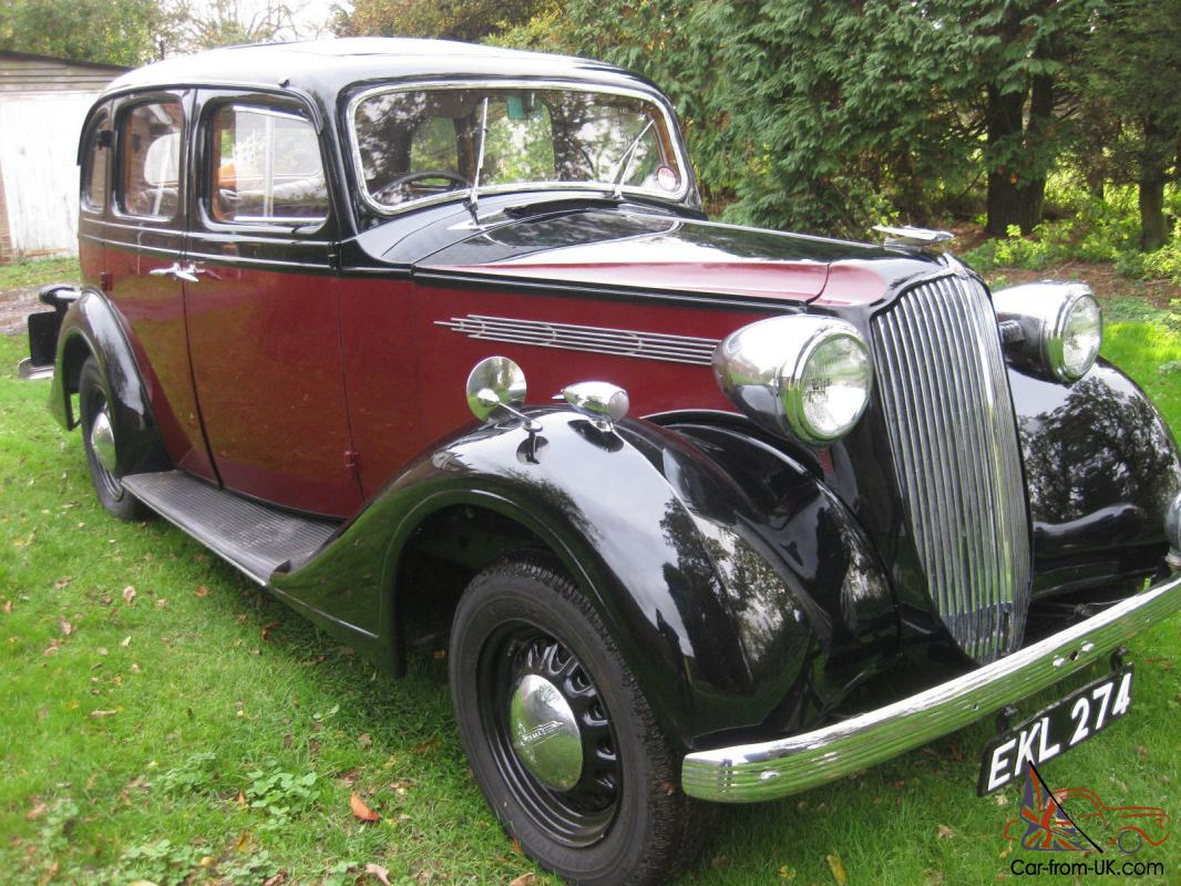 vauxhall GY saloon 1937 recent restoration taxed and motd