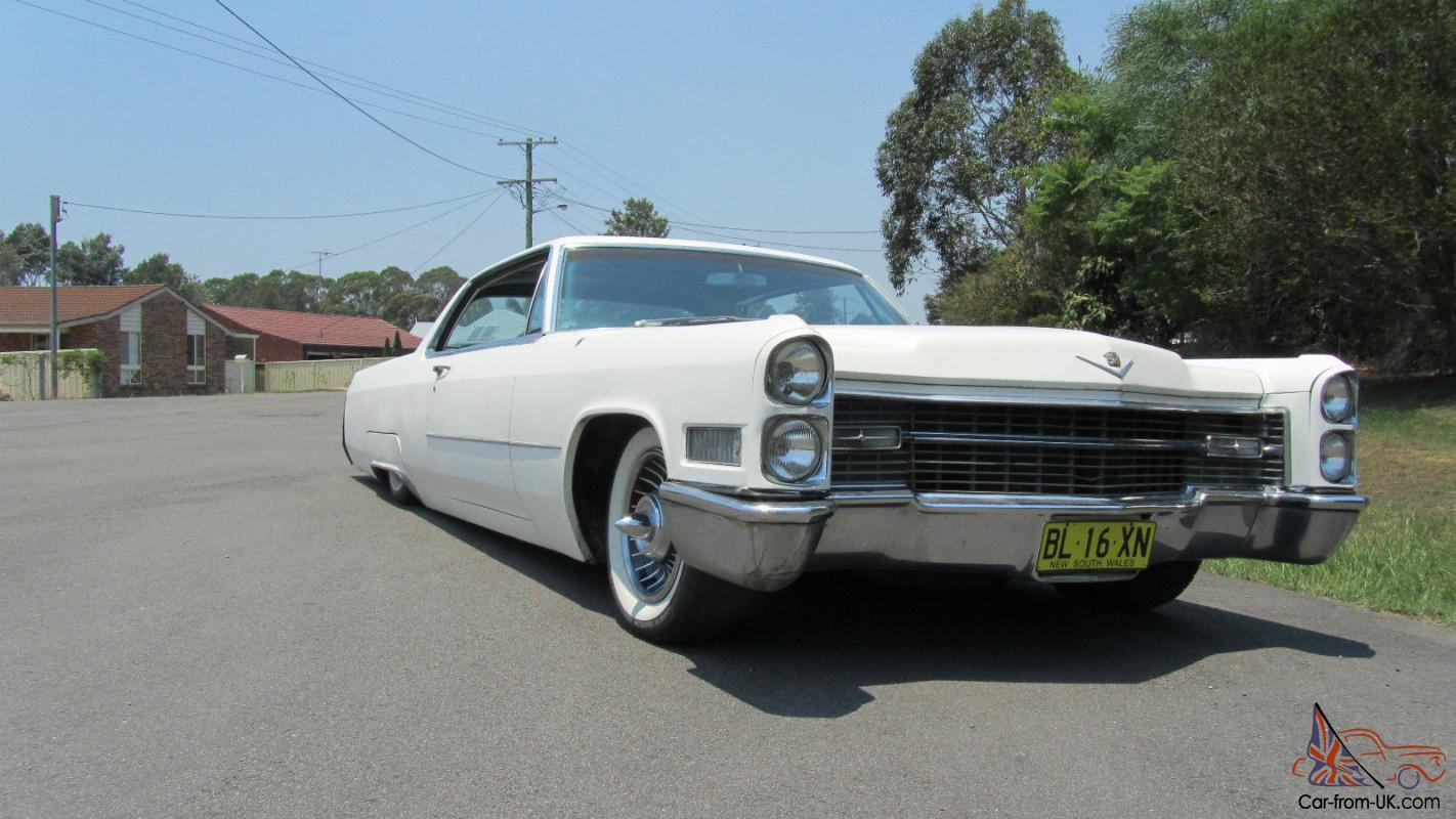 Cadillac 1966 Coupe Deville Airbagged In Hunter Nsw