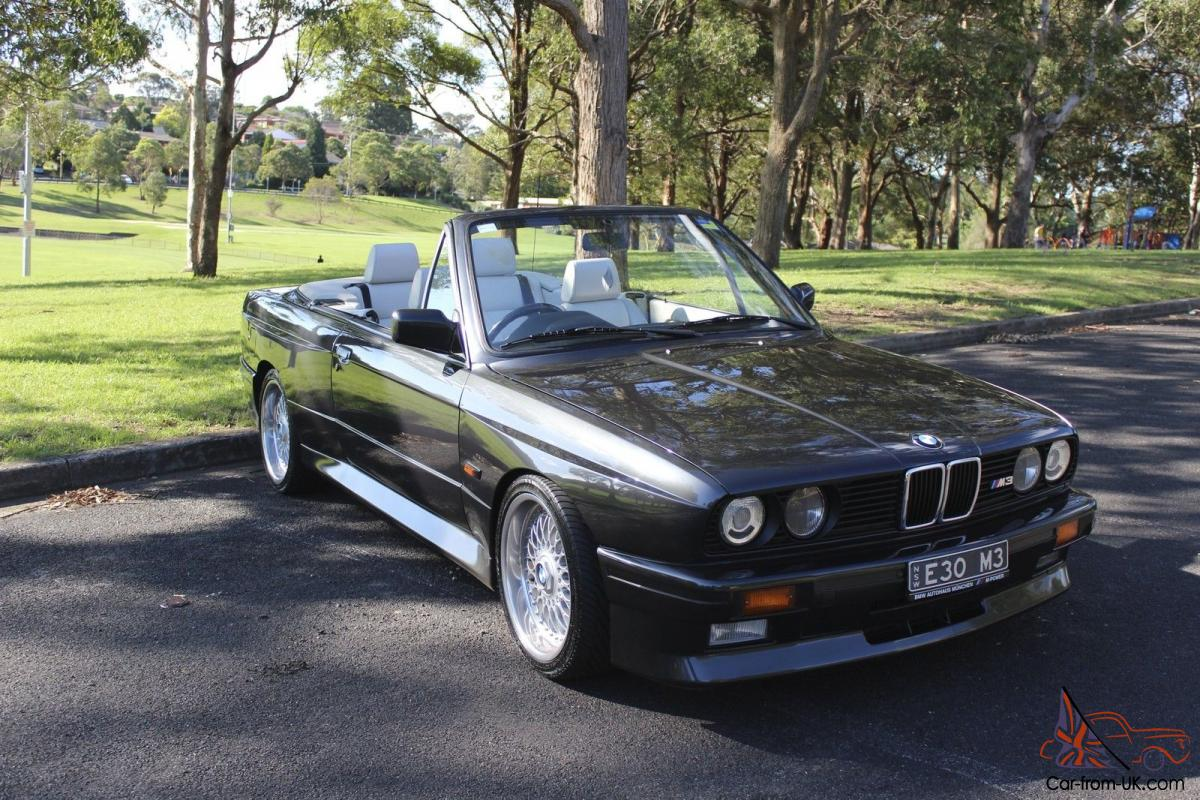 1991 bmw e30 m3 convertible in sydney nsw. Black Bedroom Furniture Sets. Home Design Ideas
