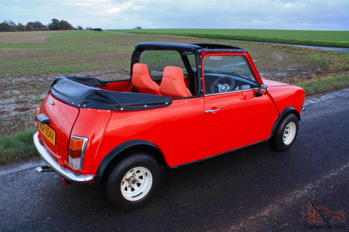 1980 austin morris mini clubman convertible interesting history full mot. Black Bedroom Furniture Sets. Home Design Ideas