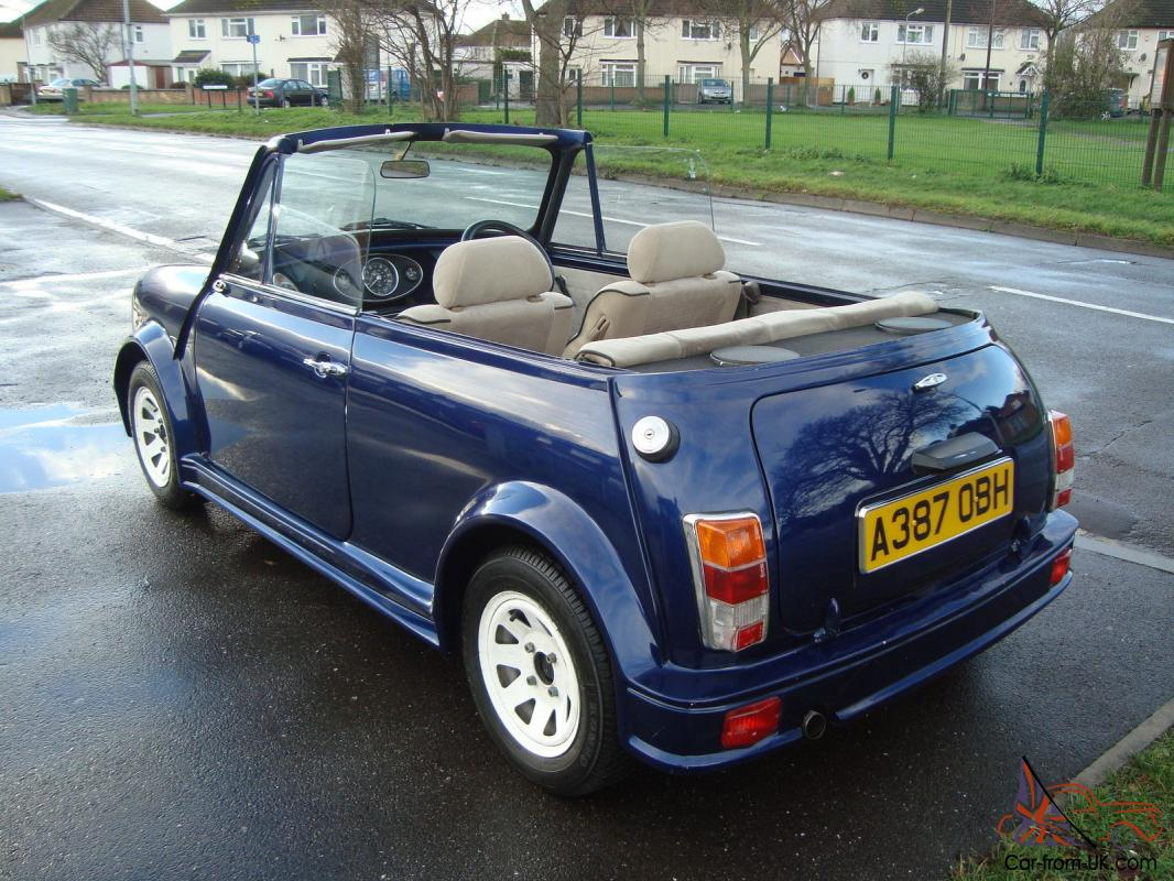 austin mini 1000 city convertible 1984. Black Bedroom Furniture Sets. Home Design Ideas
