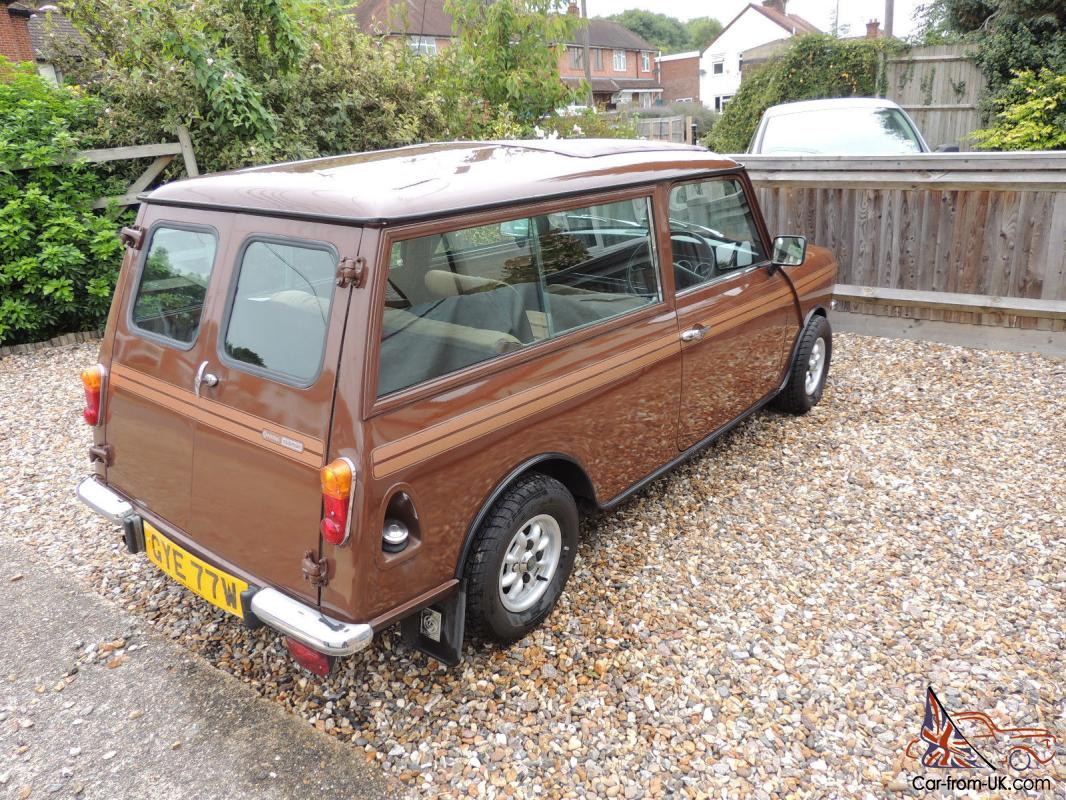 1980 Austin Morris Mini Clubman Brown