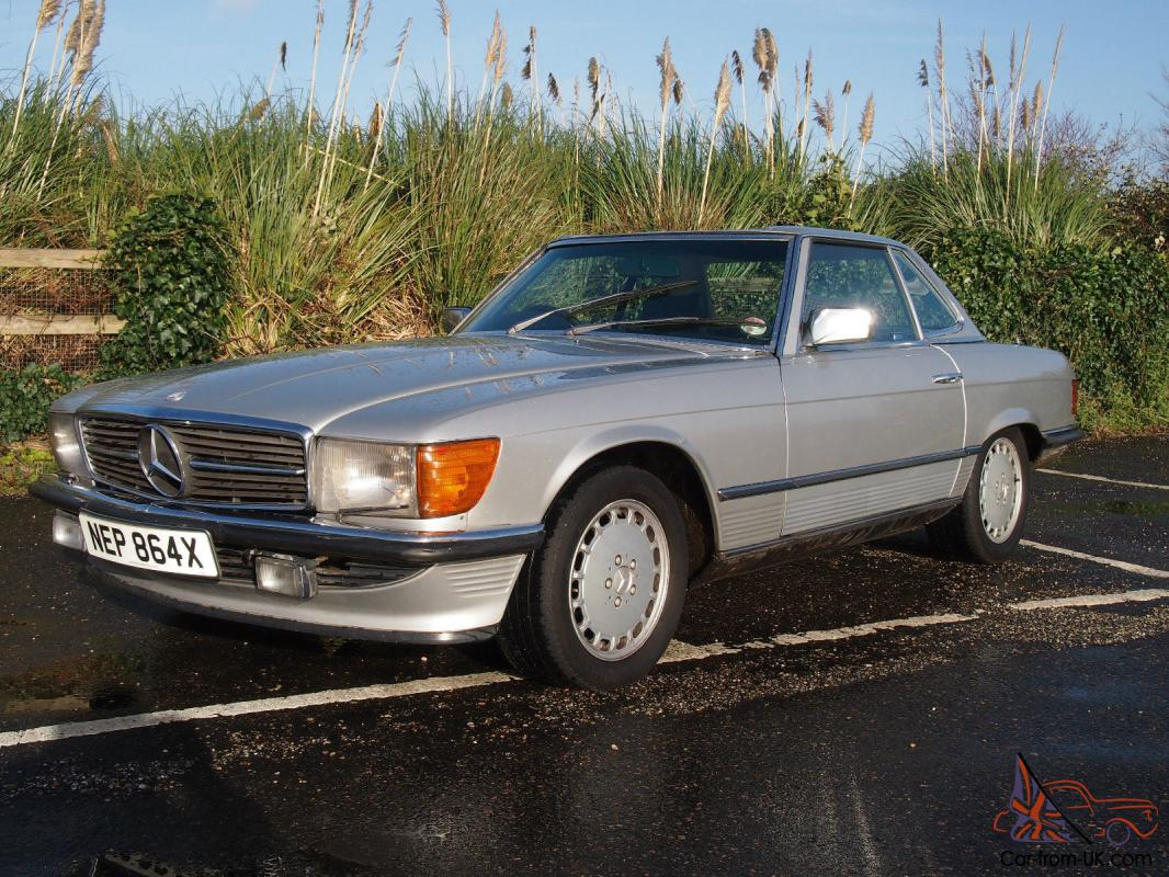 mercedes 380 sl very good condition for sale 1982. Black Bedroom Furniture Sets. Home Design Ideas