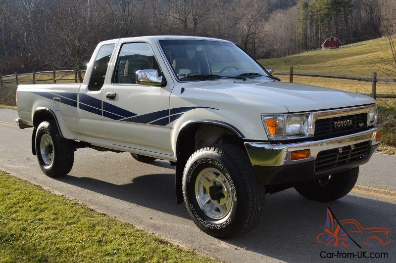 1989 toyota sr5 tacoma 3 0 litre v6 4x4 extended cab. Black Bedroom Furniture Sets. Home Design Ideas