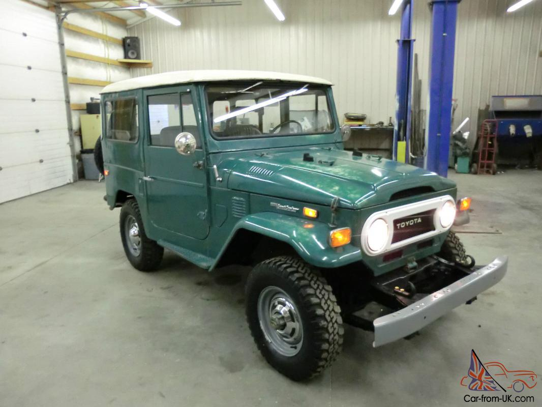 1974 Toyota Land Cruiser Fj40 No Reserve Original Paint