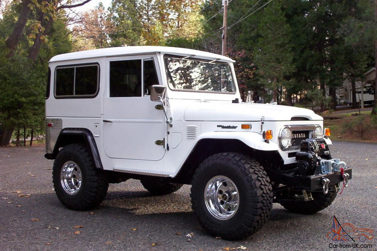 1975 toyota landcruiser fj40 totally restored and customized imaculate. Black Bedroom Furniture Sets. Home Design Ideas