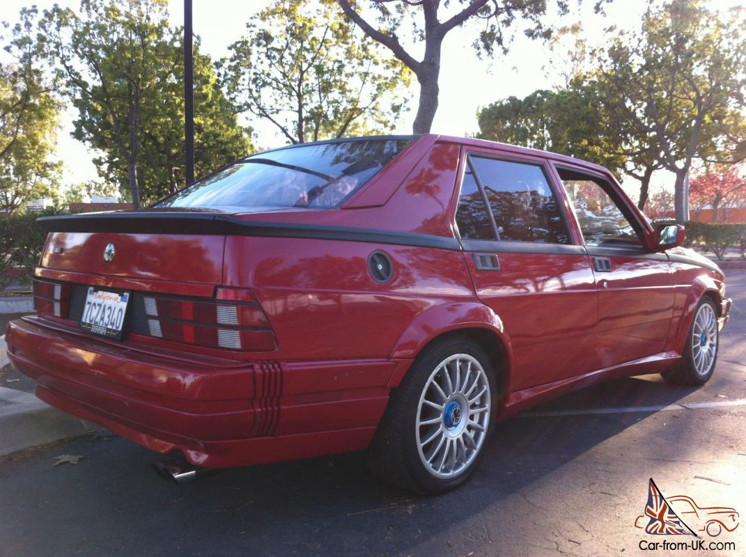 alfa romeo milano verde well maintained low miles best color mech