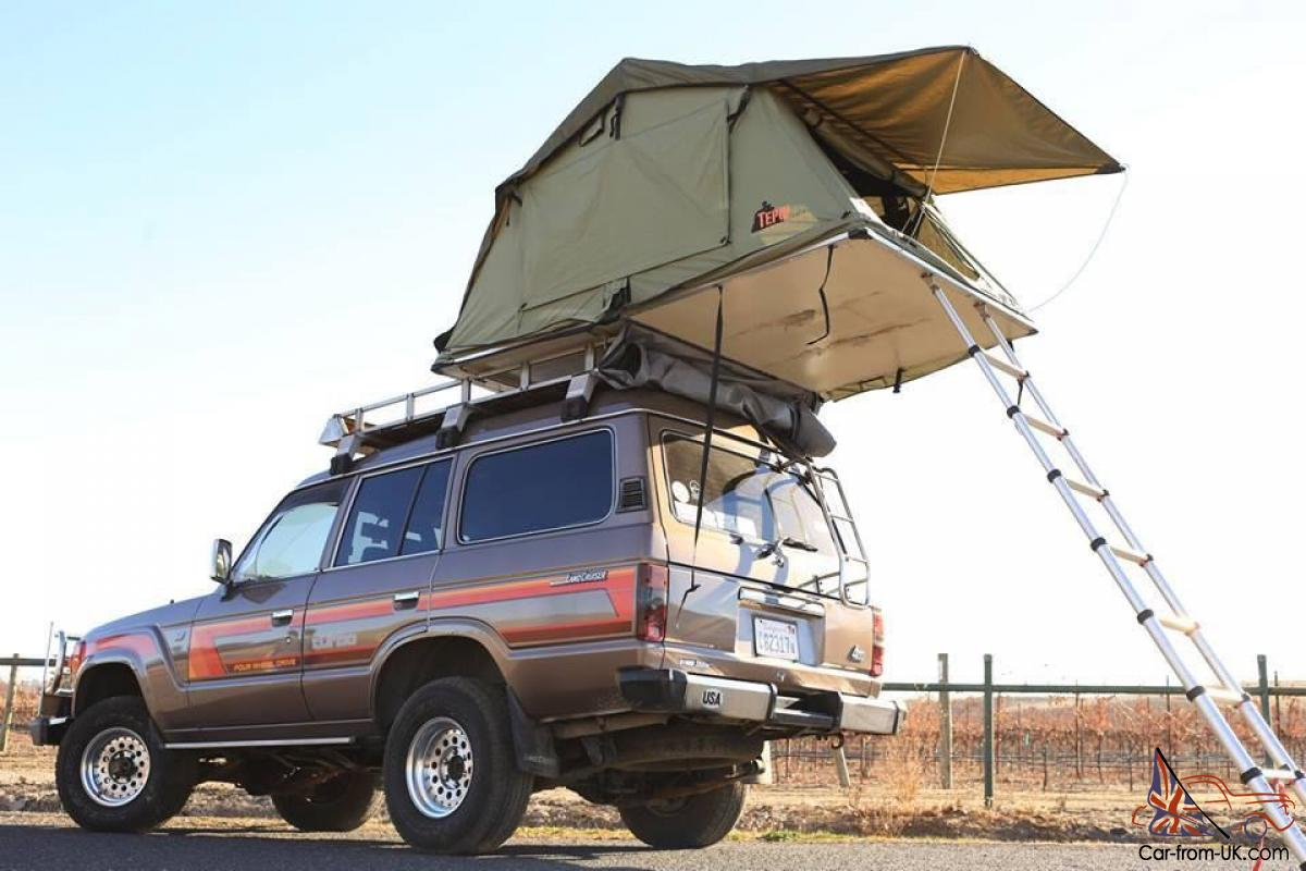 1988 TURBO DIESEL HJ61 WITH ROOF TOP TENT & TURBO DIESEL HJ61 WITH ROOF TOP TENT
