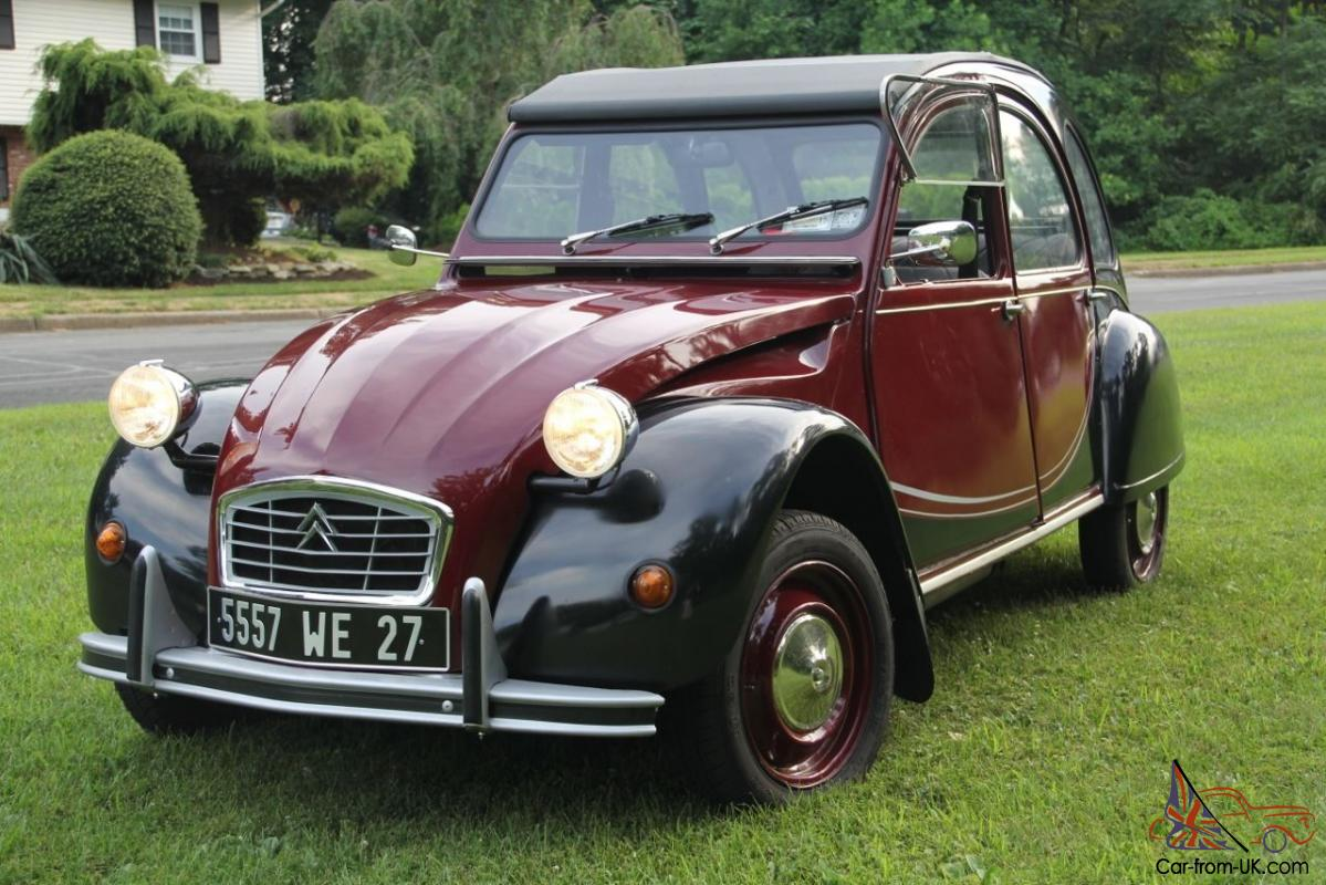 beautiful 1976 citroen 2cv charleston. Black Bedroom Furniture Sets. Home Design Ideas