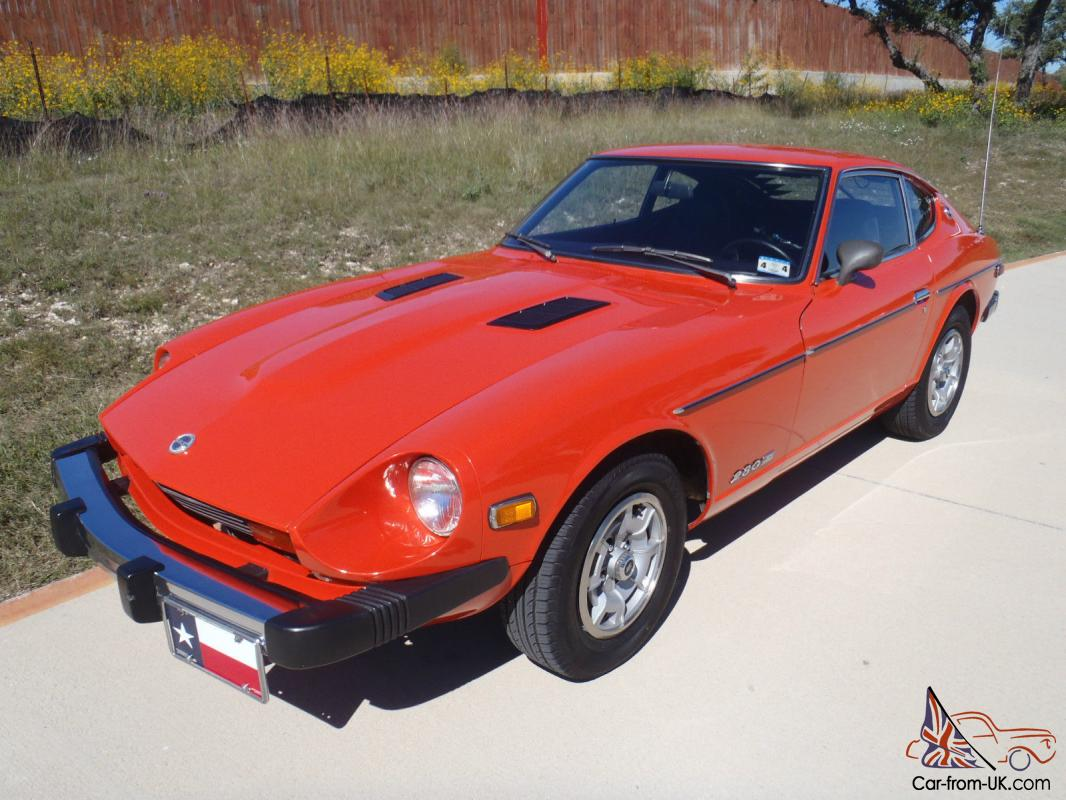 1977 DATSUN 280Z-ONE OWNER-GARAGED-EXC.COND-SERVICE RECORDS-TEXAS CAR,NO  RESERVE
