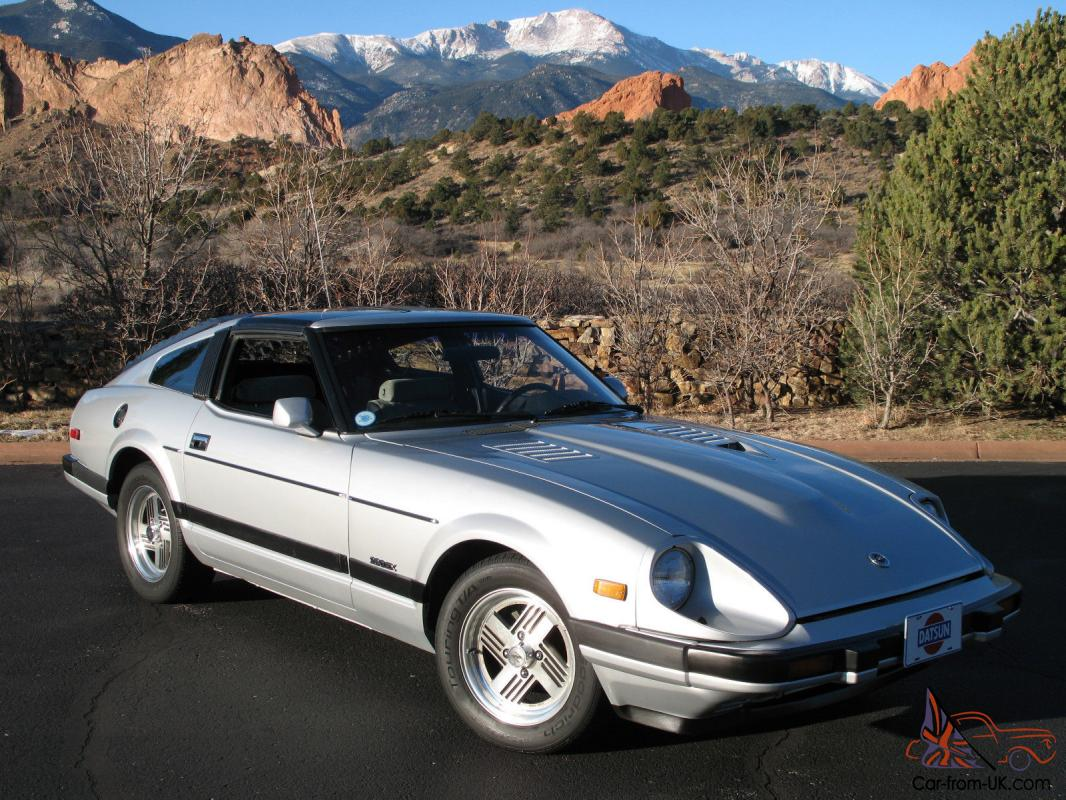 1983 datsun 280zx turbo one owner very low mileage beautiful