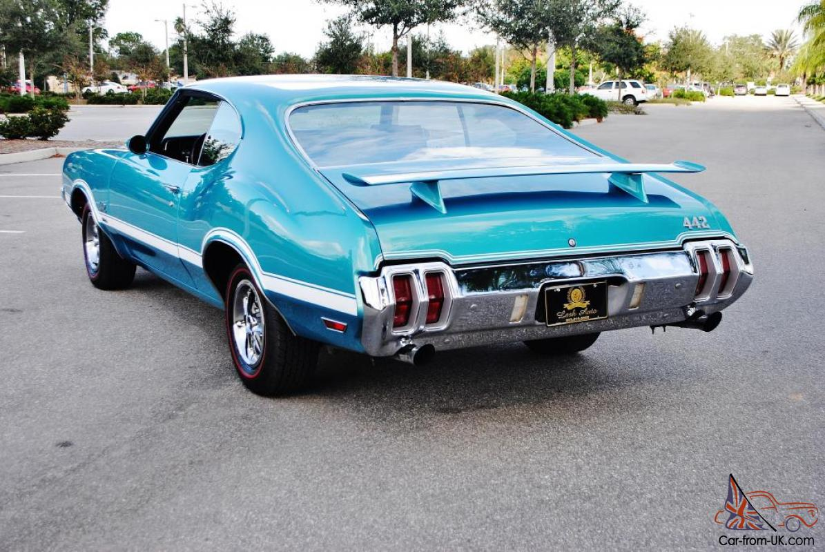Real Deal 455 Matching Numbered 70 Oldsmobile 442 W-30 4-Speed ...