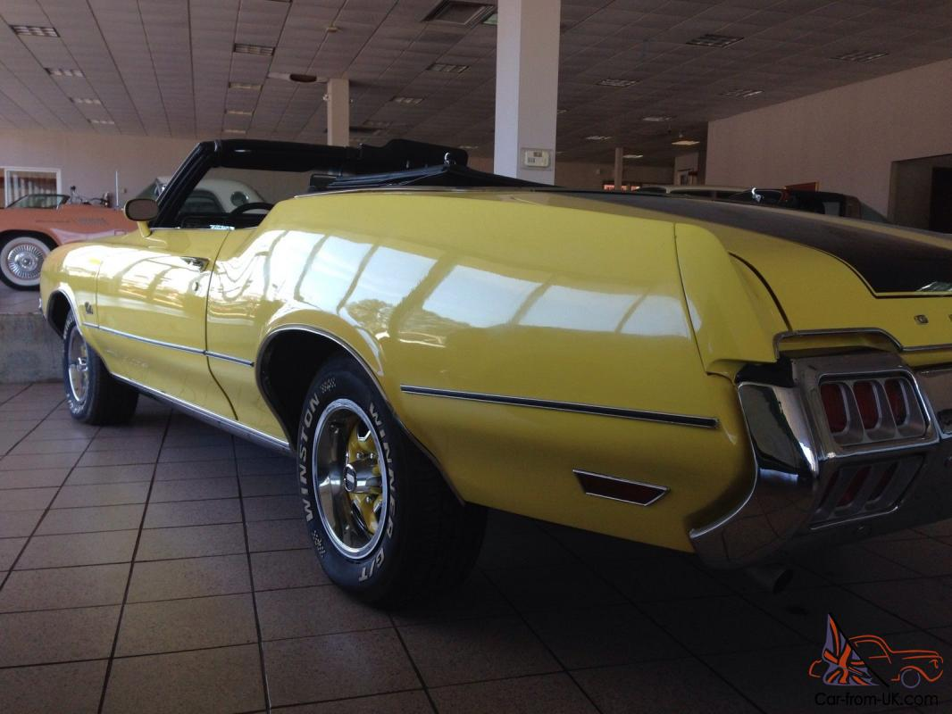 72 olds cutlass s specs