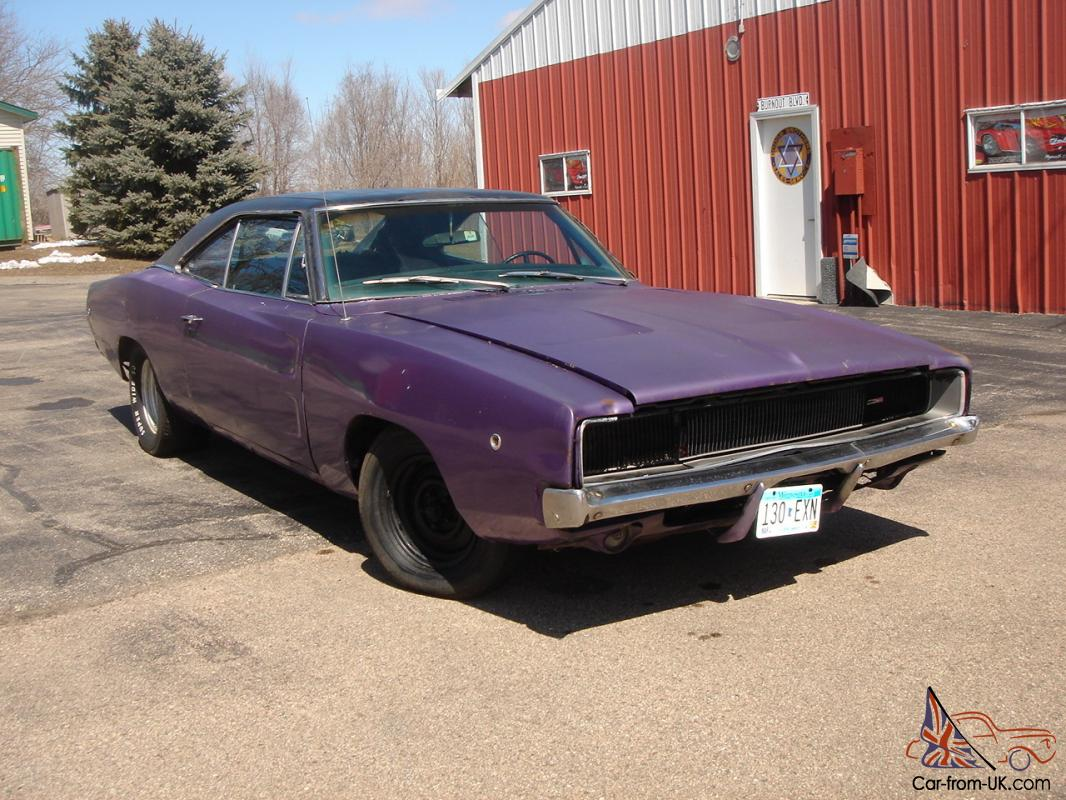 1968 dodge charger project cheap car that runs