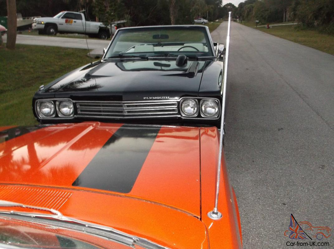 1969 Plymouth Road Runner Convertible Holy Grail Of Mopars Rare Options