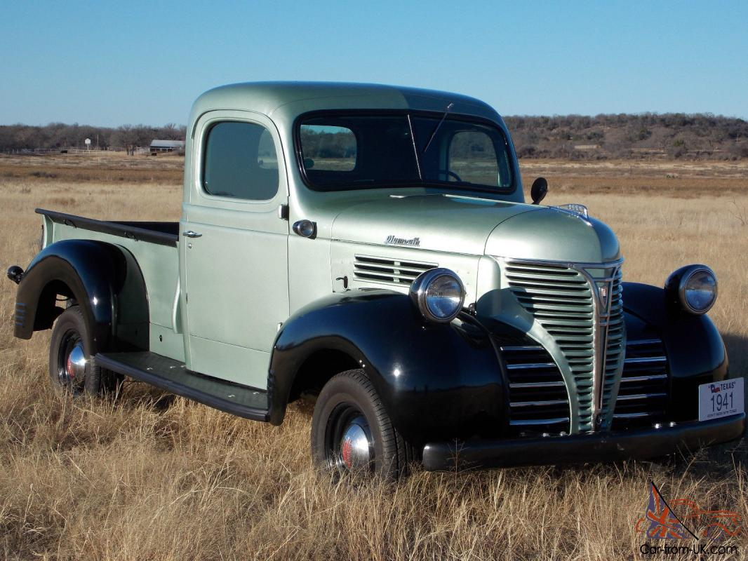 1941 Plymouth Pt 125 Truck