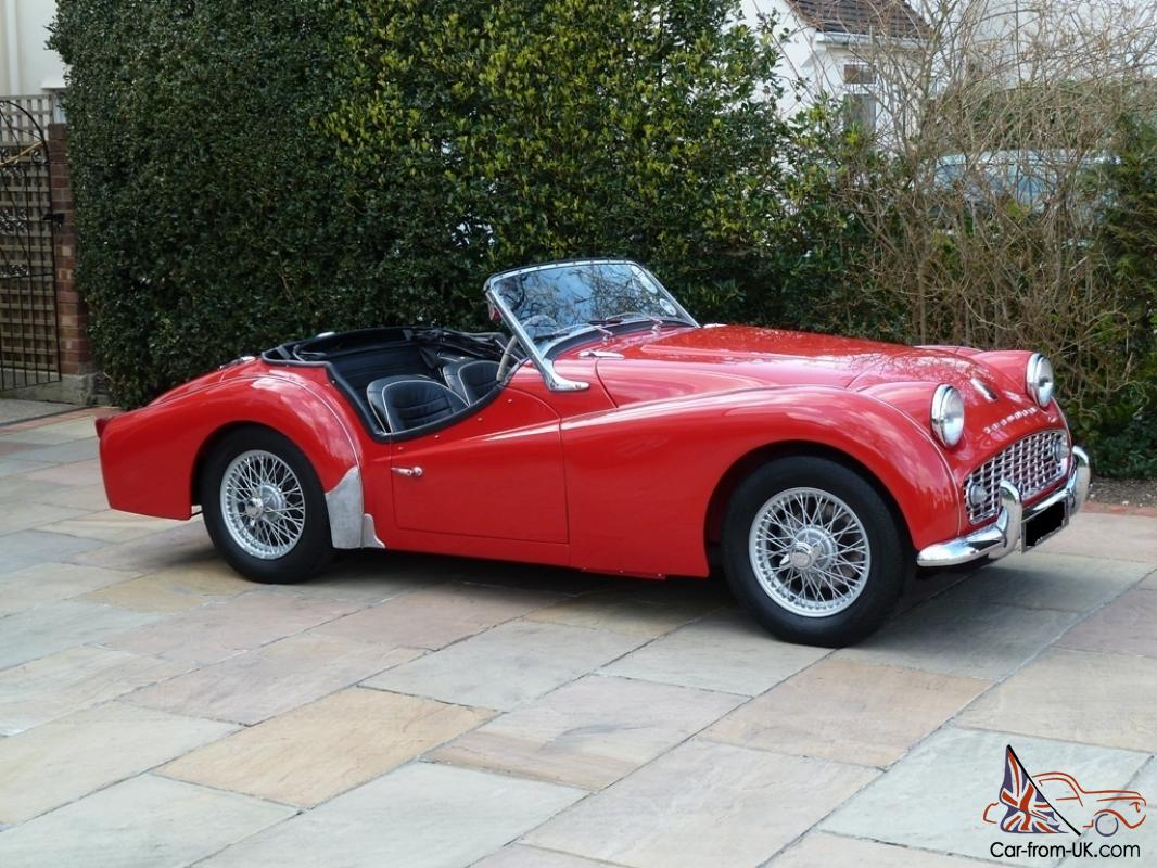 triumph tr3a 1958 uk rhd overdrive stunning condition restored. Black Bedroom Furniture Sets. Home Design Ideas