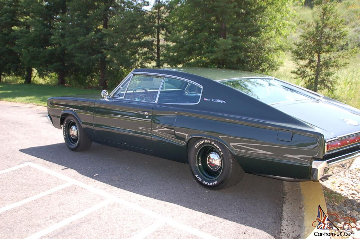 1966 Dodge Charger 440 4spd Awesome Restoration Drives