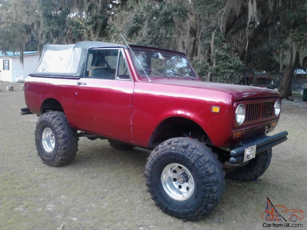 1978 international harvester scout 2 ii 4x4 345 v8 4 spd runs great restored. Black Bedroom Furniture Sets. Home Design Ideas