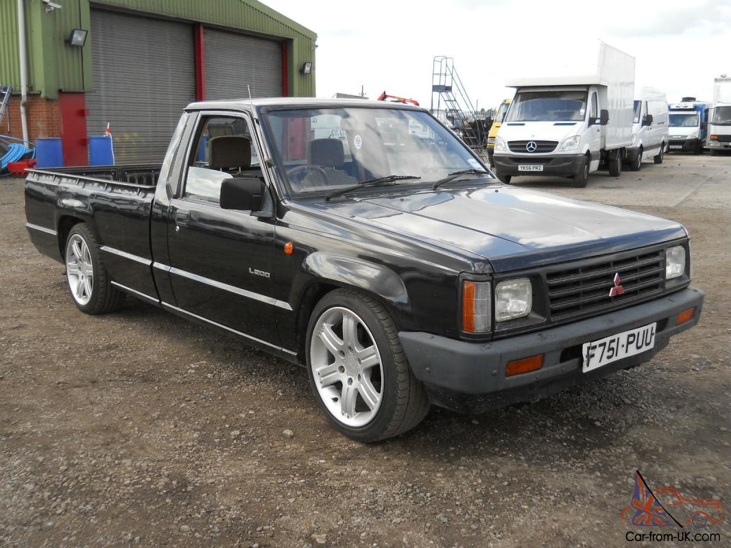 mitsubishi l200 pick up 1988 39 f 39 reg lowered 18 shogun. Black Bedroom Furniture Sets. Home Design Ideas